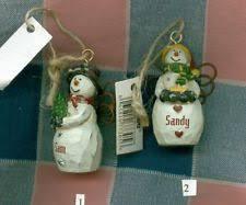 ganz snowman ornaments ebay