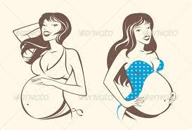 pregnant woman by tulegenova graphicriver
