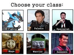 Meme Chose - my chose your class meme by sharpe fan on deviantart
