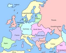 World Map According To America by American Friendly Europe No Tiny Countries With Names That Are
