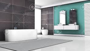 interieur salle de bain moderne intérieur de la salle de bains design contemporain avec des tuiles