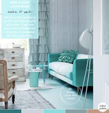 mint green living room palette addict chic mint grey living room grey living rooms