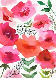 Best  Floral Pattern Wallpaper Ideas On Pinterest Floral - Poppy wallpaper home interior