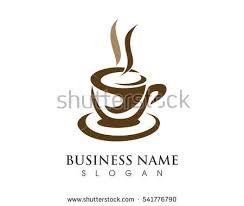 coffee cup logo template vector icon imagem vetorial de banco