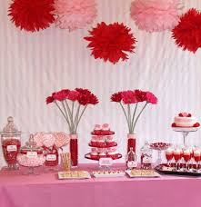 decoration enchanting ceiling hanging for decorating valentine s appealing valentine day table decoration with cake flower and many candy plus adorable valentine day home