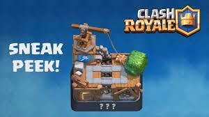 clash royale new update builders workshop sneak peek youtube