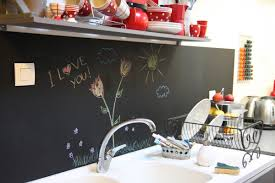 peinture ardoise cuisine un tableau noir dans ma cuisine