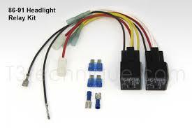 vanagon headlight relay kits t3technique vanagon parts and