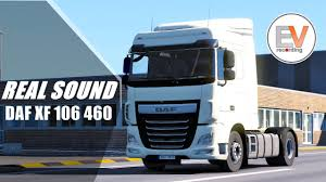 paccar kenworth coming soon real sound daf xf 106 460 euro 6 paccar mx 13 340 4