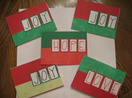 homemade christmas cards ne wall