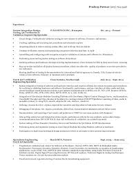 Test Engineer Resume Template Cisco Test Engineer Sample Resume 3 Manager Test Engineering