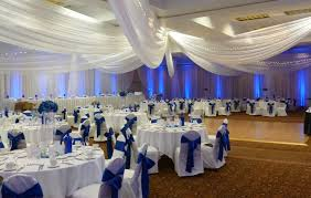 royal blue chair covers white ceiling drape white chair covers with royal blue satin