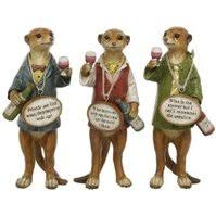 meerkat ornaments for the home and garden meerkats toys