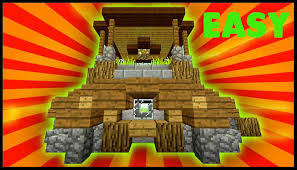 minecraft how to build a small survival farm house tutorial easy