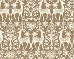 scandinavian material fabric