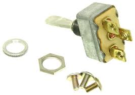 pollak heavy duty toggle switch spdt on off on 12 volt 50