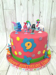 cake ideas for girl image result for disney trolls cake ideas jadyns bday ideas