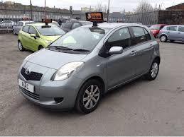 toyota yaris 07 toyota yaris 1 3 vvt i zinc 5dr 1 900 1 previous owner just