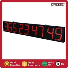 led digital custom countdown countdown clock outdoor