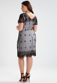 frock and frill curve cocktail dress party black women