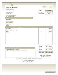 free daycare child invoice template excel pdf word doc sample html