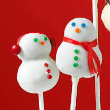 cake pops snowman cake pops recipe taste of home
