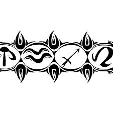 armband designs back to tribal armband