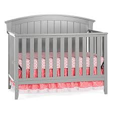 child craft delaney 4 in 1 convertible crib in cool grey buybuy