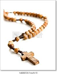 wooden rosary free print of wooden rosary wooden rosary on
