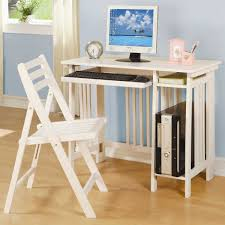 Small Computer Desk White White Computer Desk With Drawers White Polyester Curtain Silver