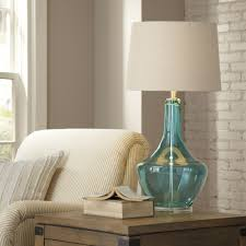 elegance coastal shutter lamps floor lamp sea glass for cheap