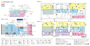 Shopping Mall Floor Plan Pdf Floor Map From Jr Tower Sapporo Station Shopping Center U003capia