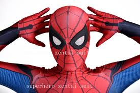 homecoming spider man costume cosplay 3d spiderman homecoming