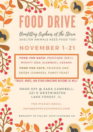 thanksgiving food drive ruff clothing co