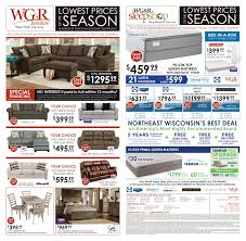Price Busters Furniture Store by Current Furniture Sale Promotions Wg U0026r Furniture