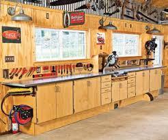 Amazing Garage Workbench Ideas 11 Garage Workshop Shed by Reclaimed Wood The Garage Journal Board Shop Pinterest