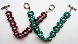 easy beaded bracelet images Easy beading pattern for beginners 2 beaded bracelets 1 beaded jpg