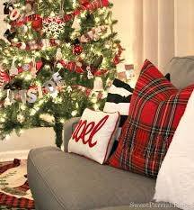 plaid christmas my plaid inspired christmas tree sweet parrish place