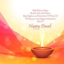 diwali festival card template vector free download