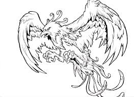 phoenix tattoo drawing flash real photo pictures images and