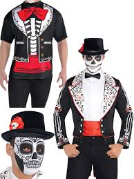halloween costume mexican skeleton mens day of the dead skeleton tailcoat halloween fancy dress