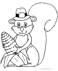 happy thanksgiving coloring pages 002