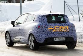 renault clio iv teaser image leaked photos 1 of 3