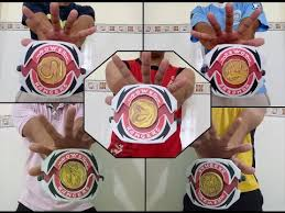 power rangers mighty morphin mighty morpher papercraft