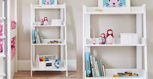 ladder bookcase white gltc