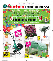 Bineuse Electrique Carrefour by Tract Anniversaire 10 Ans Jardinerie By Auchan Saint Omer Issuu