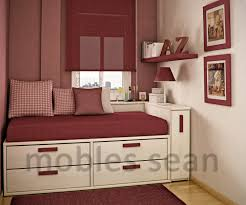 Red And White Modern Bedroom How To Live Large In A Tiny Home Think You Can Live In Such A