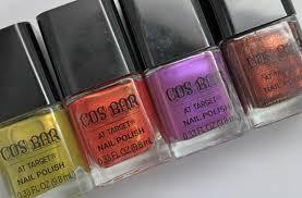 cos bar at target nail polish swatches photos u0026 review vampy