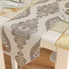 Western Dining Room Tables by New Fashion Table Runner Modern Round Coffee Luxury Table Flag