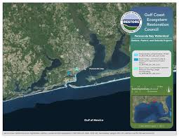Map Of Florida Gulf Side by Draft Initial Funded Priorities List Restore The Gulf